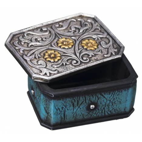 Scrolled Stones Trinket Box