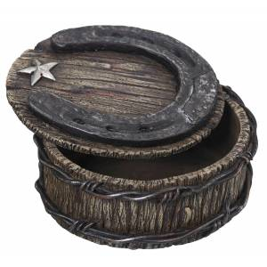 Horseshoe Trinket Box