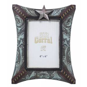 Star Floral Picture Frame