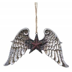 Wings/Star Ornament
