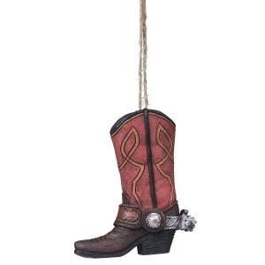 Spur And Boot Ornament