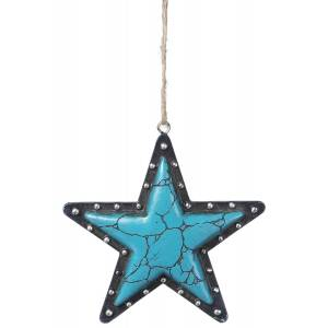 Star Nailhead Ornament