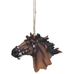 Bling Horse Ornament