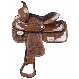 King Series Mccoy Trail Saddle With Silver