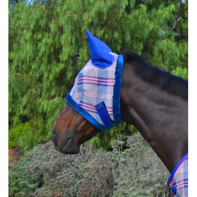 Kensington Signature Fly Mask with Ears and Fleece Trim