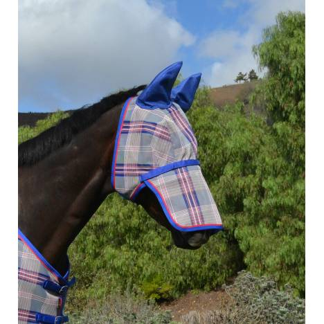 Kensington Signature Fly Mask with Nose Piece & Ears
