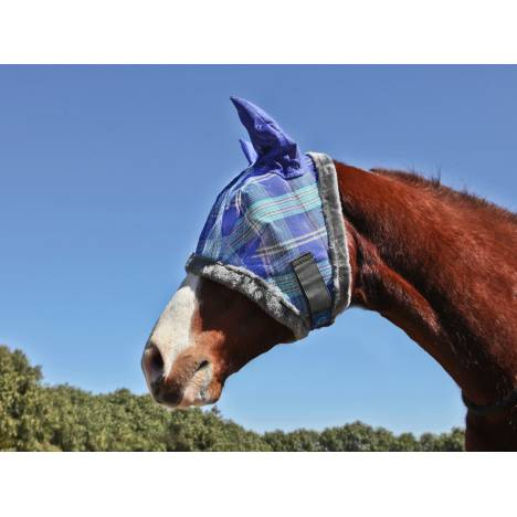 Kensington Fly Mask with Fleece & Ears - Pony