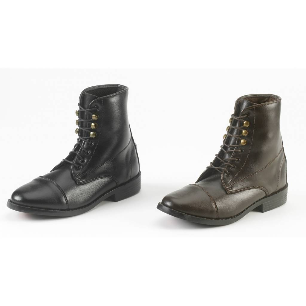 EquiStar Kids All Weather Lace Paddock Boots