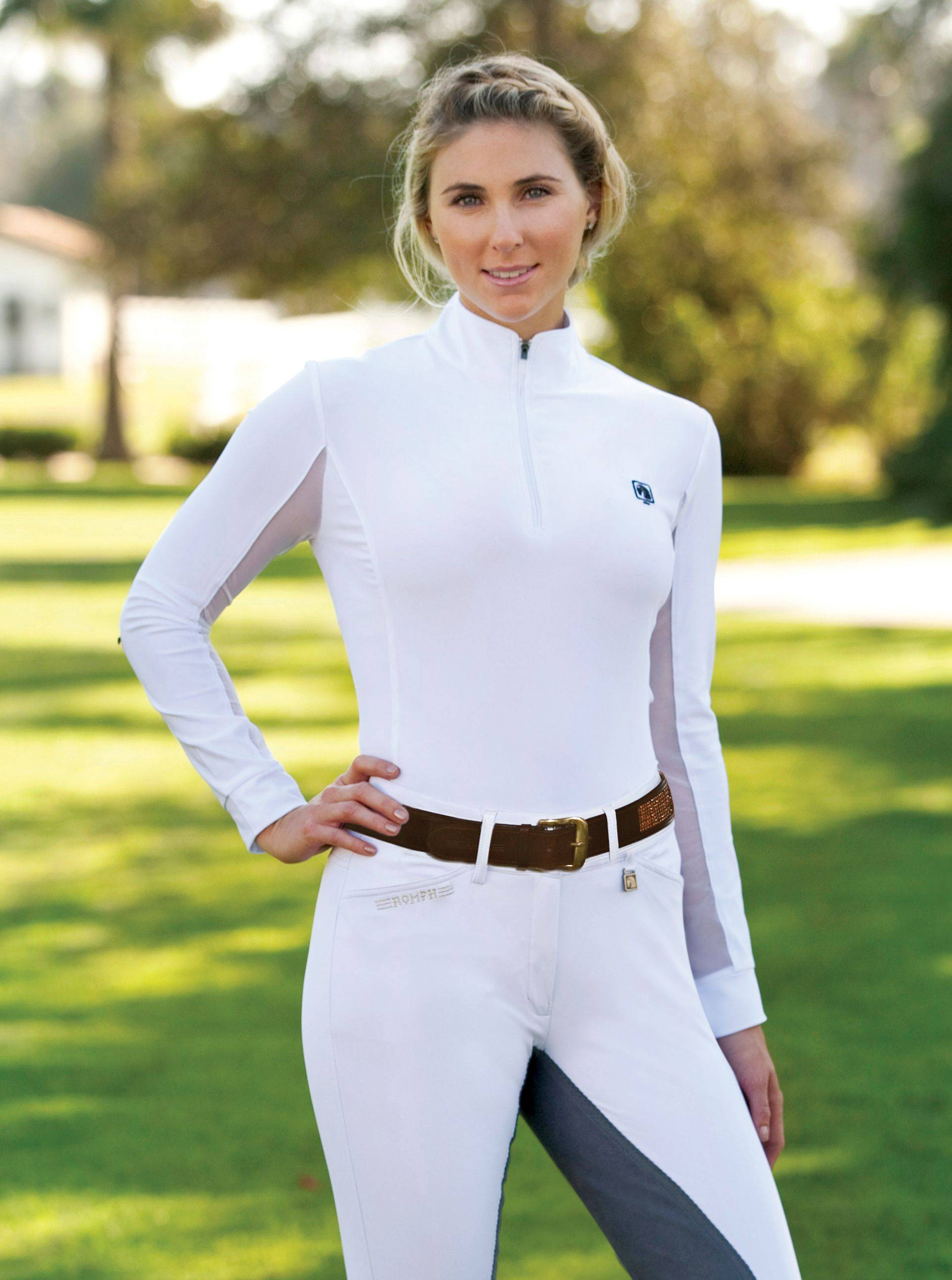 Romfh Pirouette Riding Shirt - Ladies, Long Sleeve