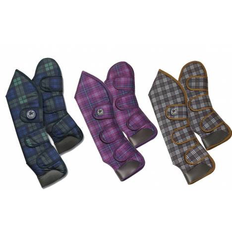 Centaur Shipping Boots - Plaid, Set of 4