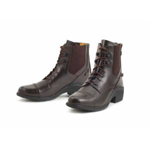 Ovation Synergy Back Zip Paddock Boots - Ladies