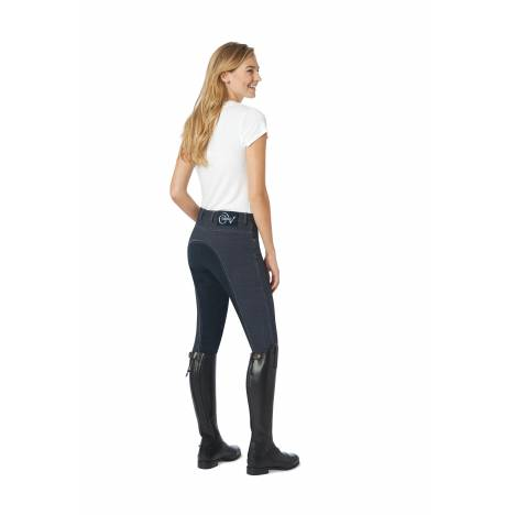 Ovation Euro Jean Front Zip Breeches - Ladies, Full Seat