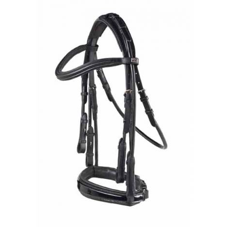 PDS Carl Hester Patent Rolled Double Bridle