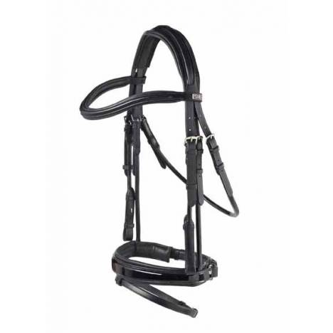 PDS Carl Hester Patent Rolled Snaffle Brdle