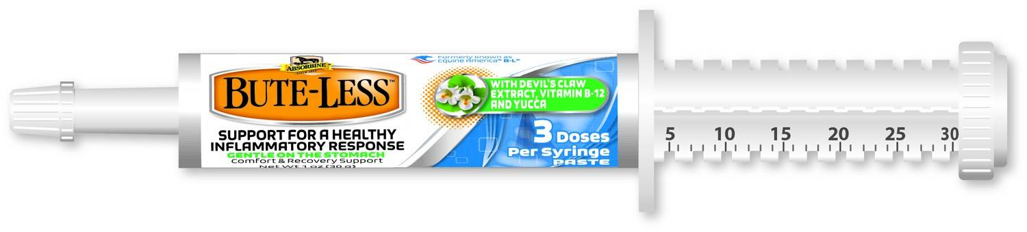 Absorbine Bute Less Paste Syringe