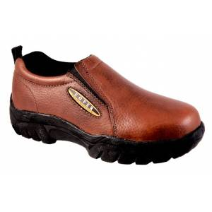 Roper Classic Slip-On Shoes - Ladies, Bay Brown