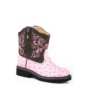 Roper Kids Winged Heart Fashion Cowgirl Boots