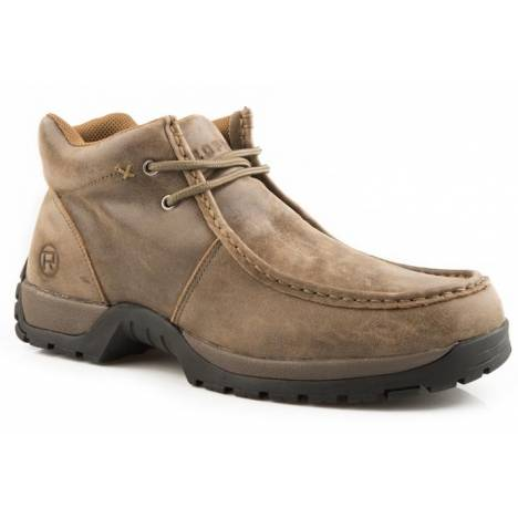 Roper Comfort Lace Up Boots - Mens, Brown