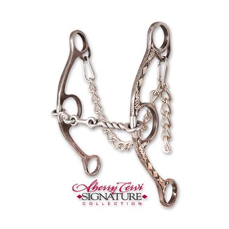 Classic Equine Cervi Twisted Wire Dogbne Diamond Long Shank