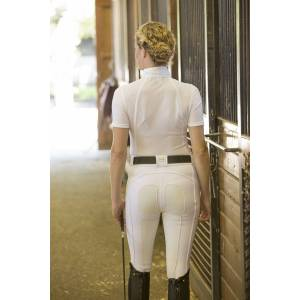 FITS PerforMAX Zip Front Breeches - Ladies, White