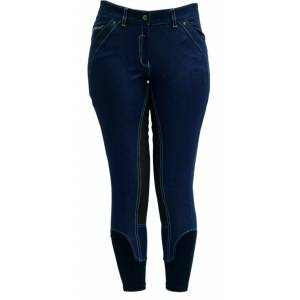 Horseware Summer Denim Breeches - Ladies, Denim