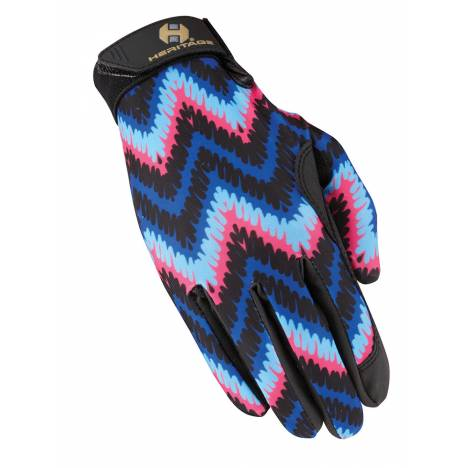 Heritage Ladies Performance Gloves Prints - Zigzag