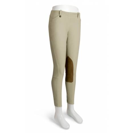 RJ Classics Sterling Natural-Rise Side Zip Breeches - Girls, Sand