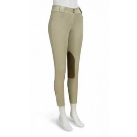 RJ Classics Sterling Euro Lo-Rise Front Zip Breeches - Ladies, Sand