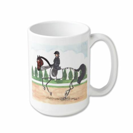 Kelley Stick Horse Mug - Dressage Canter