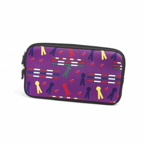 Kelley Neoprene Zipper Bag - Rails & Ribbons