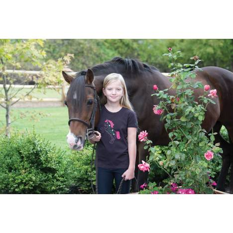 Irideon Flower Pony Tee - Kids