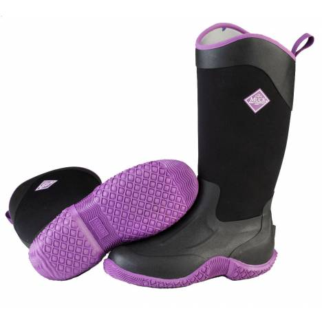Muck Boots Tack II Tall - Ladies - Black Purple
