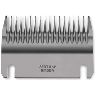 Aesculap Lower Cut Plate 18-Tooth Wide Space Blade Gt504