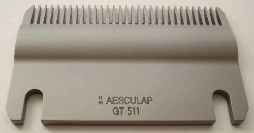 Aesculap Lower Cut Plate 31 Tooth Blade Gt511