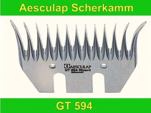 Aesculap Lower Cut Plate 13 Tooth Blade Gt594