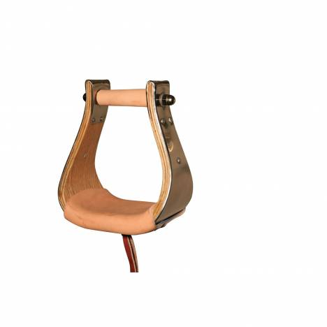 Reinsman Monel Wood Stirrup