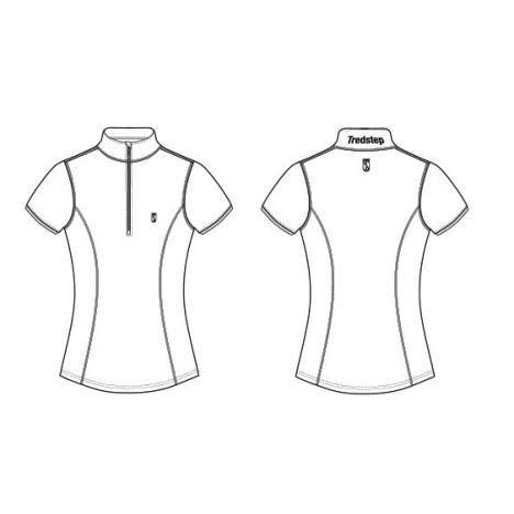 Tredstep Symphony Futura Sport Top - Ladies, Short Sleeve