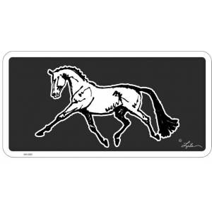 Lila Blakeslee Extended Trot License Plate