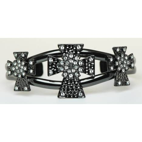 Western Edge Jewelry Triple Cross Bracelet