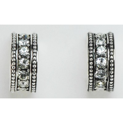 Western Edge Jewelry Crystal Stone Earrings