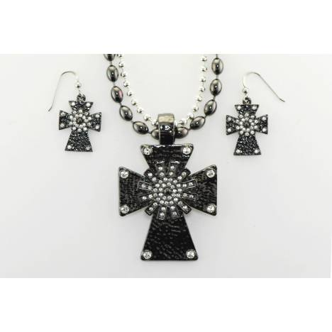 Western Edge Jewelry Cross Necklace