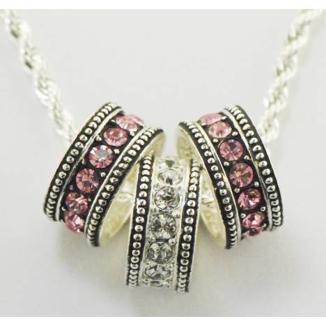 Western Edge Jewelry Crystal Stone Necklace
