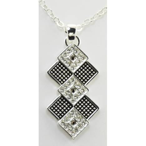 Western Edge Jewelry Diamond Stone Necklace