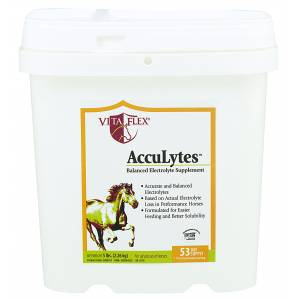 Acculytes Complete Electrolyte Formula For Horses