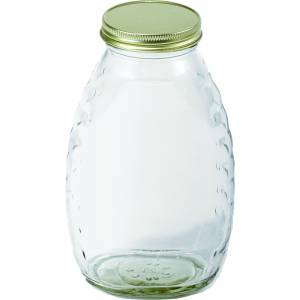 Little Giant Glass Honey Jar With Lids