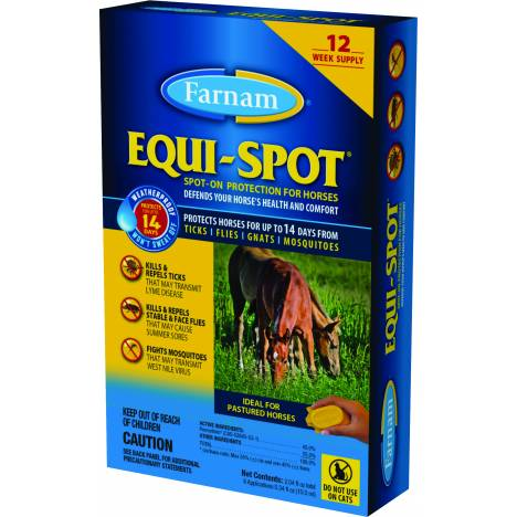 Equi Spot Spot-On Fly Control For Horses Stable