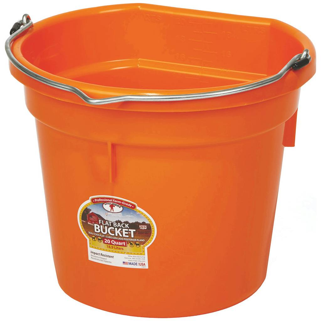Little Giant Flat Back Bucket