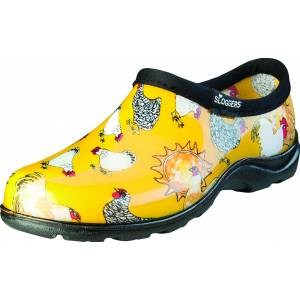Sloggers Ladies Waterproof Comfort Shoes - Chicken Yellow