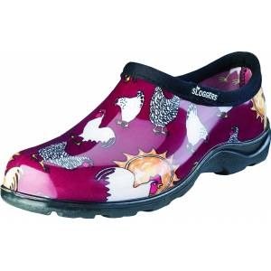 Sloggers Ladies Waterproof Comfort Shoes - Chicken Red