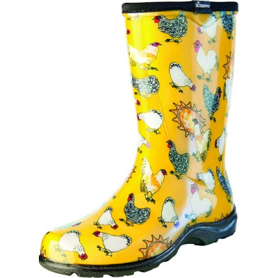 Sloggers Ladies Waterproof Comfort Boots - Chicken Yellow